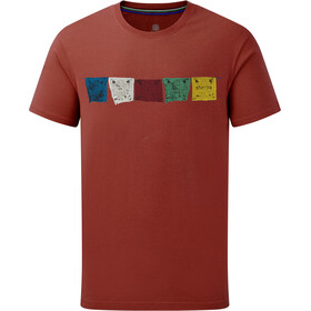 Sherpa Tarcho T-shirt Heren, clay red
